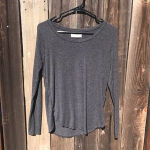 Abercrombie + Fitch Soft Long Sleeve Top
